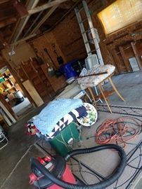Stuff in garage
