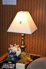 Table lamp, decor