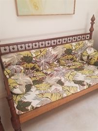 barkcloth covers on furniture