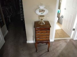 Very nice floor model Jewelry Cabinet
