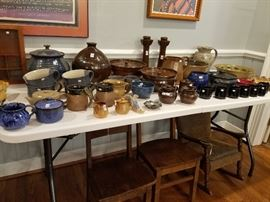 NC Pottery by Ben Owen, Cole and contemporary pieces