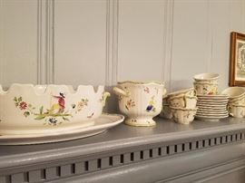 "French Dishes by Longchamp ""Moustiers"", and Lenox ""Mansfield"", and Fleur de Lis Baronesse"