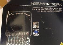 Beringer  Xenyx 1204 12 Input Mixer Board