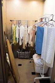 Lots of linens.  We've taken great care to have them organized for you!  Want it to be easy to find what you need.