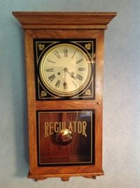 Mechanical clock with a lovely ticking sound.