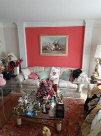 Living Room Sofa, loveseat