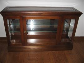 Lighted Curio Cabinet...
