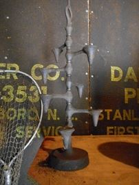 Dansk Cast Iron Candle Holder
