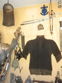 Medieval Chain Maille Armour  AND MILLITARY COLLECTIBLES