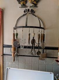 Farmhouse utensils