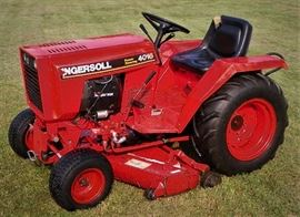 Ingersoll compact tractor model 4016, Hyd. drive & PTO with Onan engine