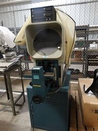Deltronic IMAGEMASTER Optical Comparator W/ Heiden ...