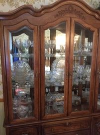 Vintage glassware and dish sets