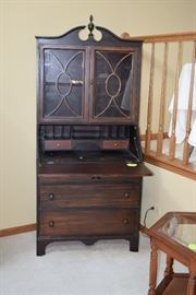 Cabinet with Fold Out Desk Top