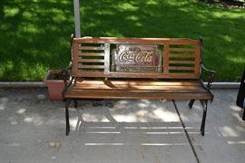 Coca Cola Bench