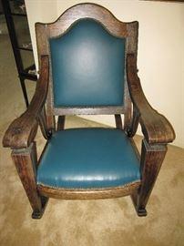 Limbert Style Rocking Chair