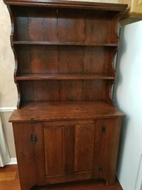 Antique hutch - perfect for use as storage for everyday items or to showcase your collection.