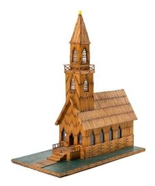 Matchstick church