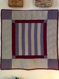 Vintage Amish style quilt