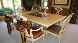Century Table with 6 chairs