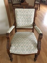 Antique Eastlake Chair
