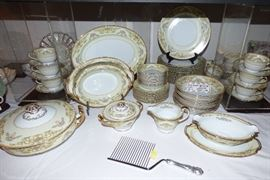 "Noritake ""Nanette"" china set"