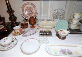 Vintage cup & saucer sets,