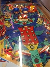 Space Mission Pinball - Great working condition