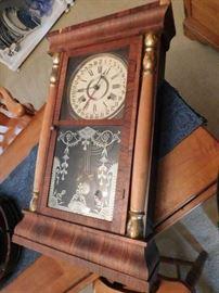 Antique Clock, made in Columbus, MS