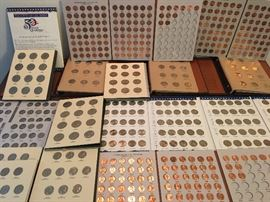 EXTENSIVE COIN COLLECTION - MORE THAN IS PICTURED!