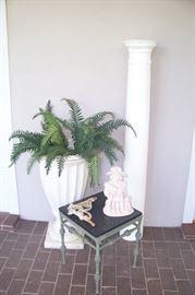 Planters, Columns
