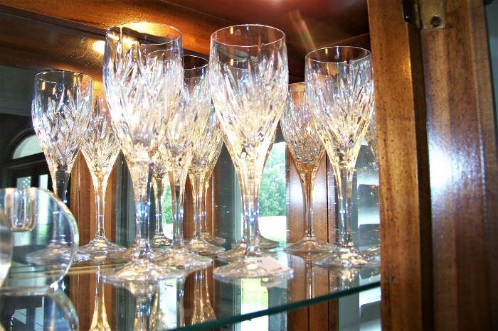Crystal flutes