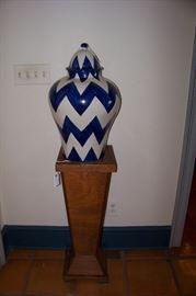 Morrocan urns, pair