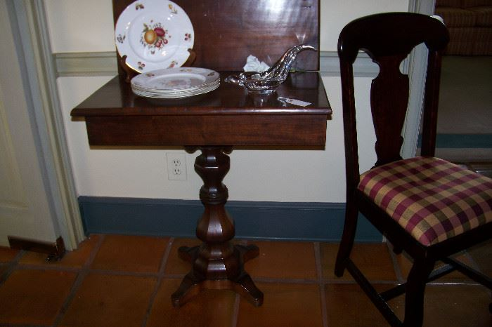 Empire card table
