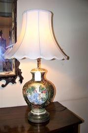 Capidomente lamp