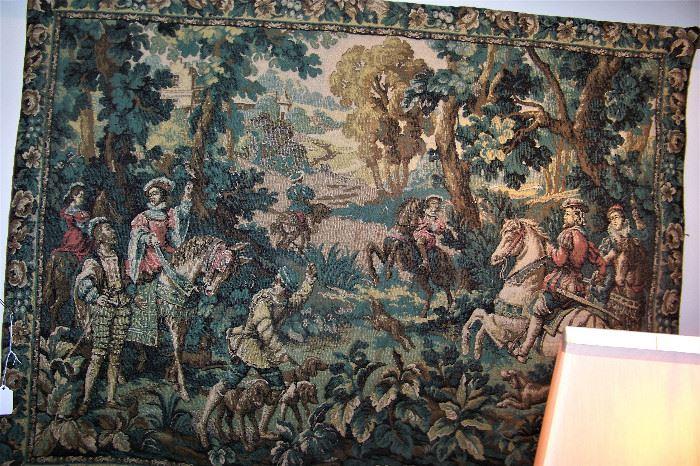 Tapestry in office