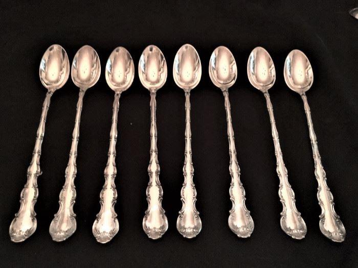 Strasbough ice tea spoons