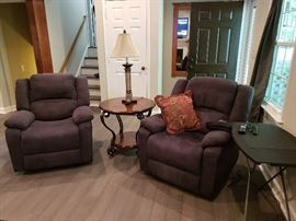 Pair of Relax-a-lounger Recliners