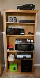 Shelving and electronics