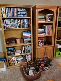 Books and Storage Shelving