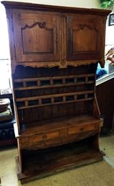 Antique French Country Cupboard