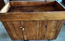 Antique Single Plank Dry Sink