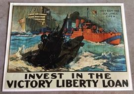 World War I Poster (1964 re-issue)
