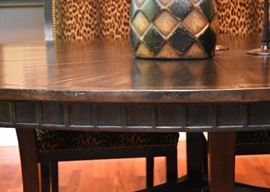 """BUY IT NOW!  $2,000 - Stunning Merchandise Mart Dining Table (approx. 7' L x 4'8"""" W x 30.25"""" H)"""