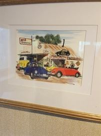 Commissioned piece from a VW collector.