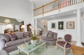 Professionally Decorated Living Room with Top Quality Furnishings!