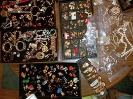 Costume jewelry...better pics to come