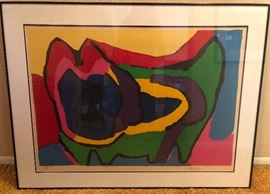 "Karel Appel ""Blue Face Beast"""
