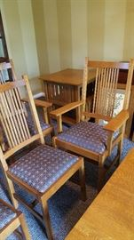 6 Stickley dining room chairs