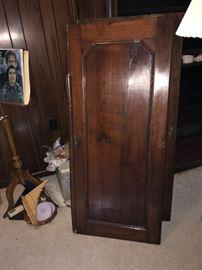 Doors to antique armoire